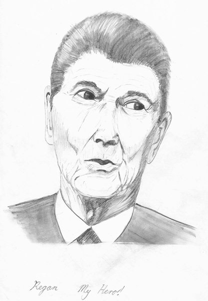 Ronald Regan - My Hero!